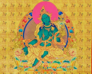 Image of the green Tara