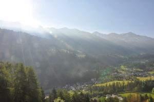 Sonne geht auf über Churwalden